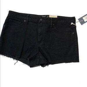 Nwt  threads plus 16 black High Rise Shorts